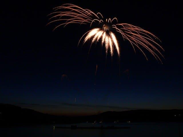 residential fireworks