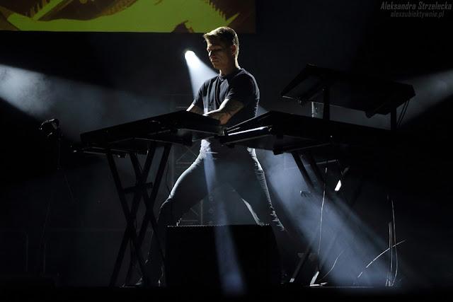 Koncert Kombii - instrumenty klawiszowe, klawisze - Wojciech Horny