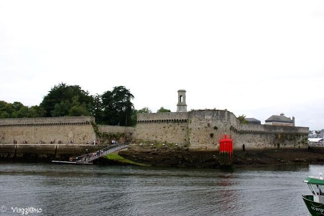 Le mura della Ville Close di Concarneau