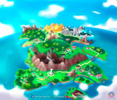 Mapa de Vlania