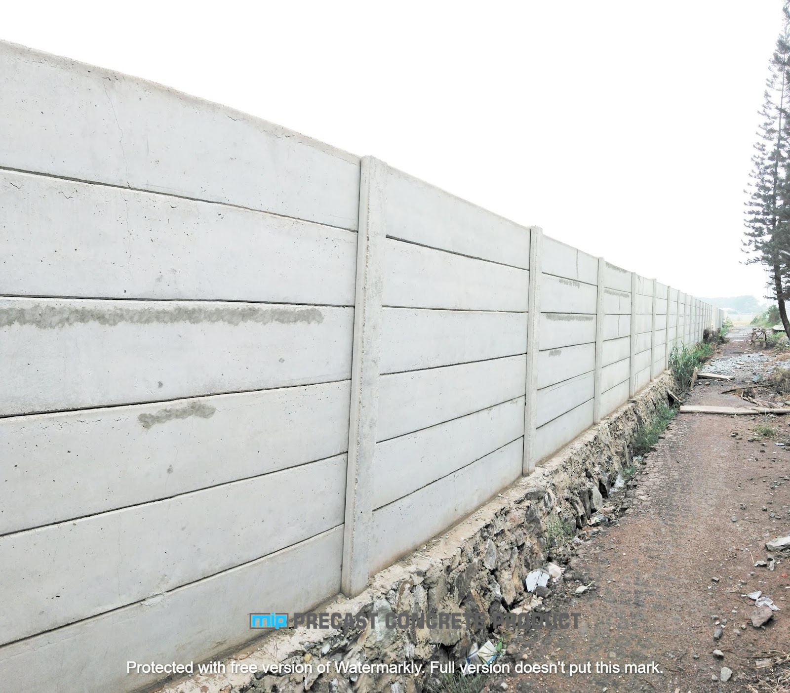 harga pagar panel beton megacon Geyer Grobogan