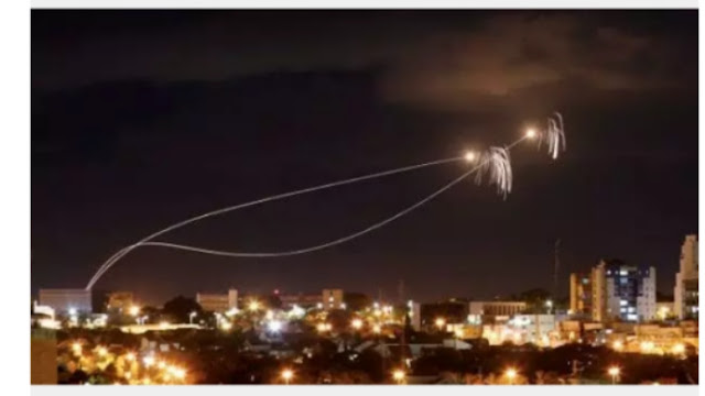 Israeli air force fires 80 hamas target in gaza after 30 rockets fired into south