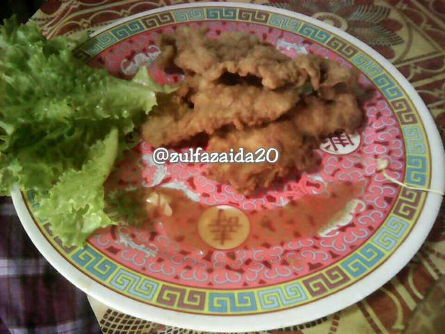 Resep chicken katsu saus teriyaki ala rumah makan ciwidey
