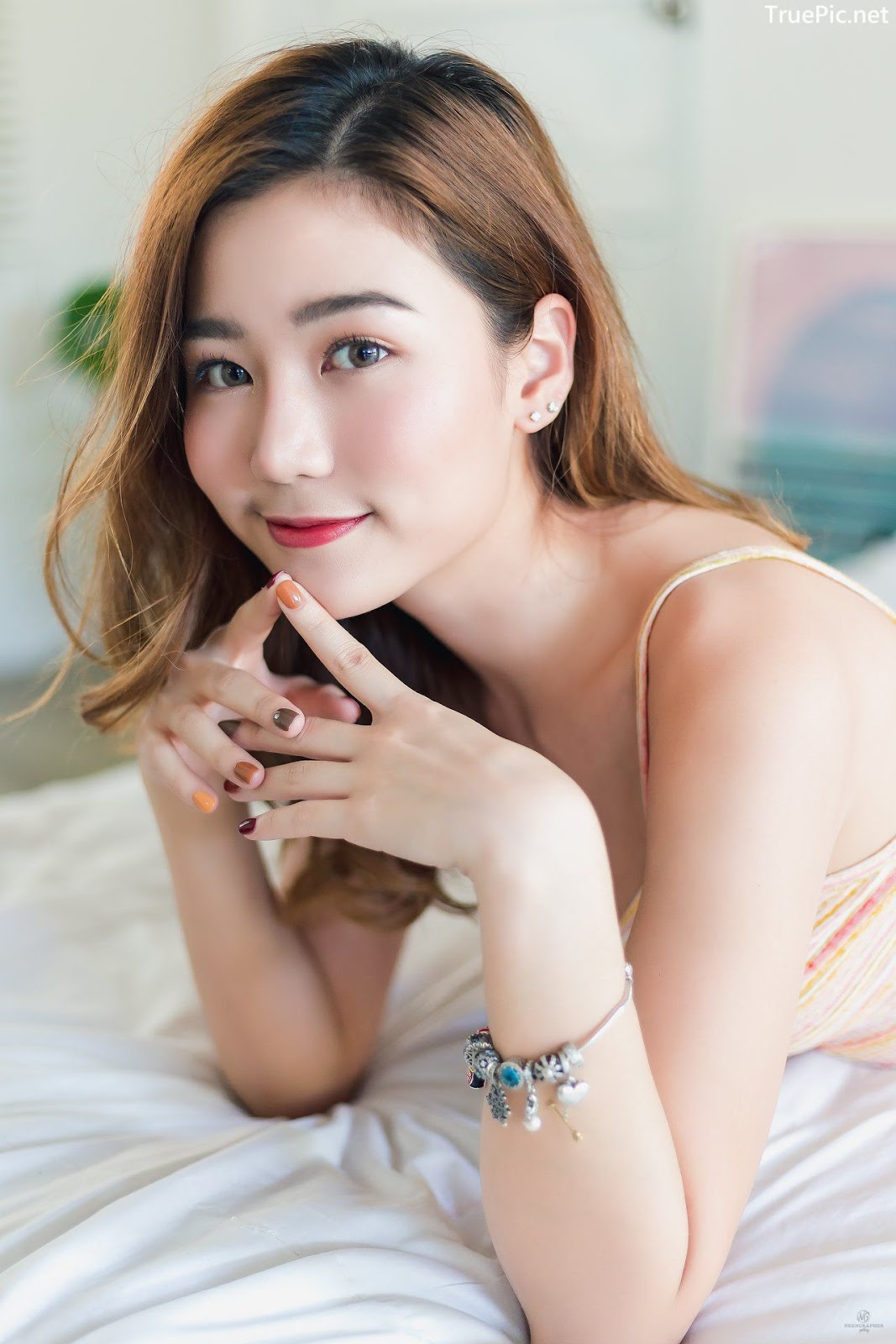 Image-Thailand-Beautiful-Girl-Pattaravadee-Boonmeesup-Social-Isolation-Day-TruePic.net- Picture-6