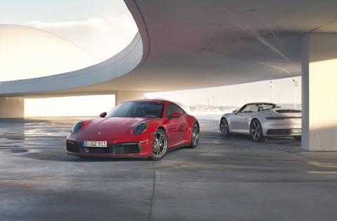 The 2020 911 Carrera 4