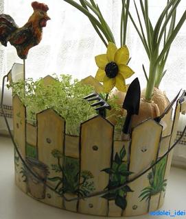 decoración-baldes-plástico