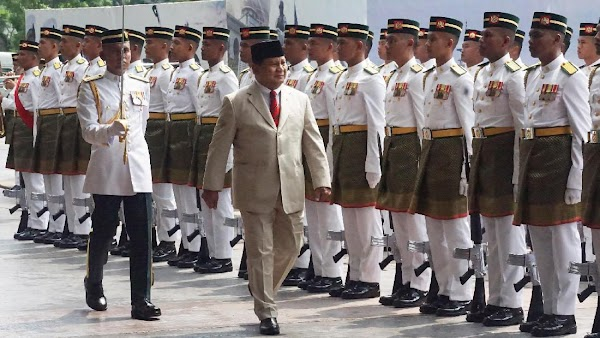 Malaysia Jadi Negeri Pertama Yang Dikunjungi Menhan Prabowo
