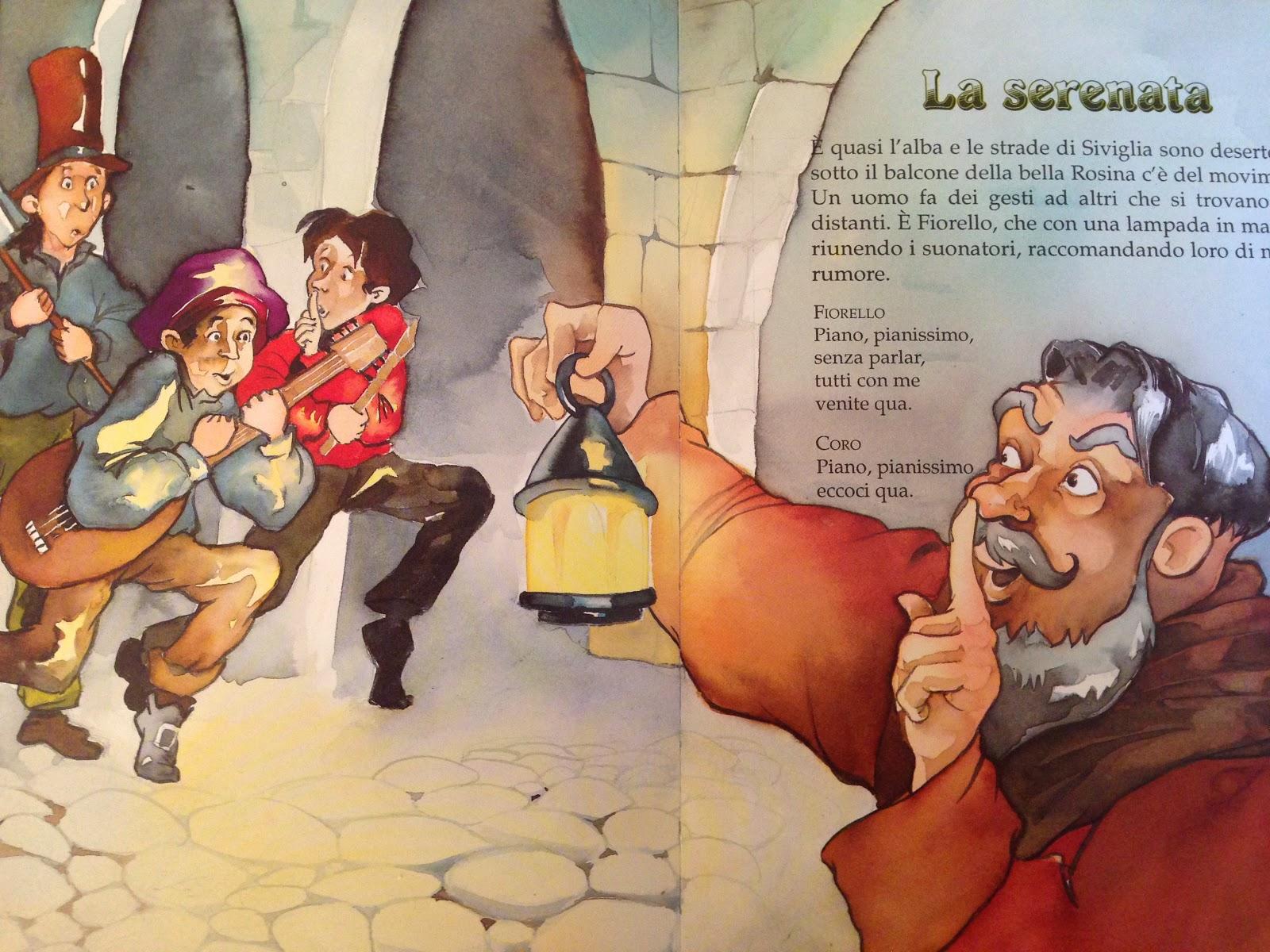 PICCOLI VIAGGI MUSICALI: Il Barbiere di Siviglia (5) - Libro di ...
