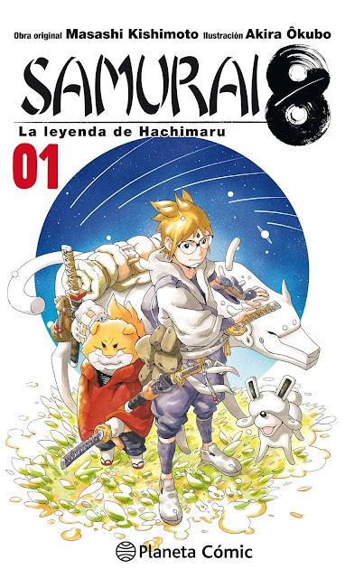 Reseña de SAMURAI 8, el nuevo manga del autor de Naruto.