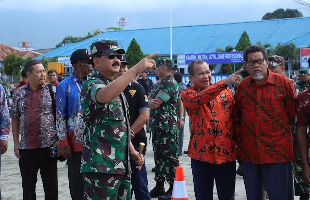Antusiasme Masyarakat Jayapura Saksikan Latihan PPRC TNI tahun 2019