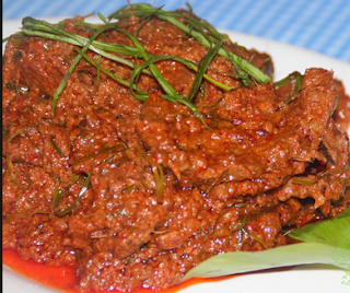resep memasak rendang daging maran