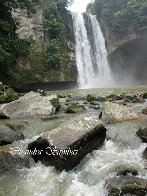 Air Terjun Tonduhan di Simalungun