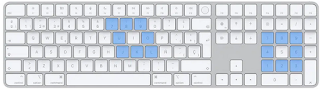 How to use the keyboard as a mouse on Mac, read here