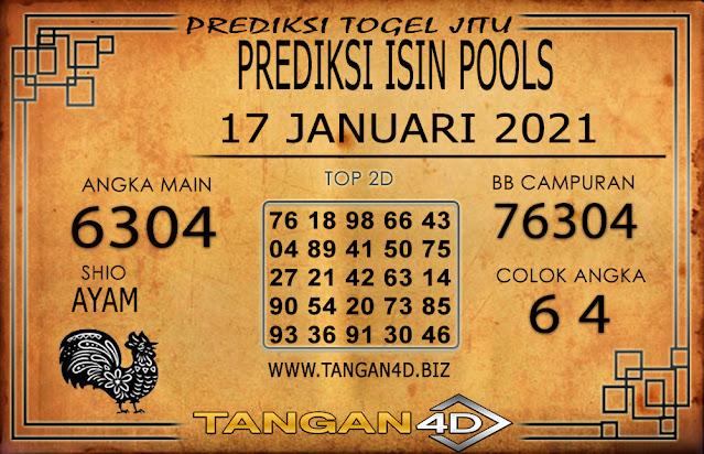 PREDIKSI TOGEL ISIN TANGAN4D 17 JANUARI 2021