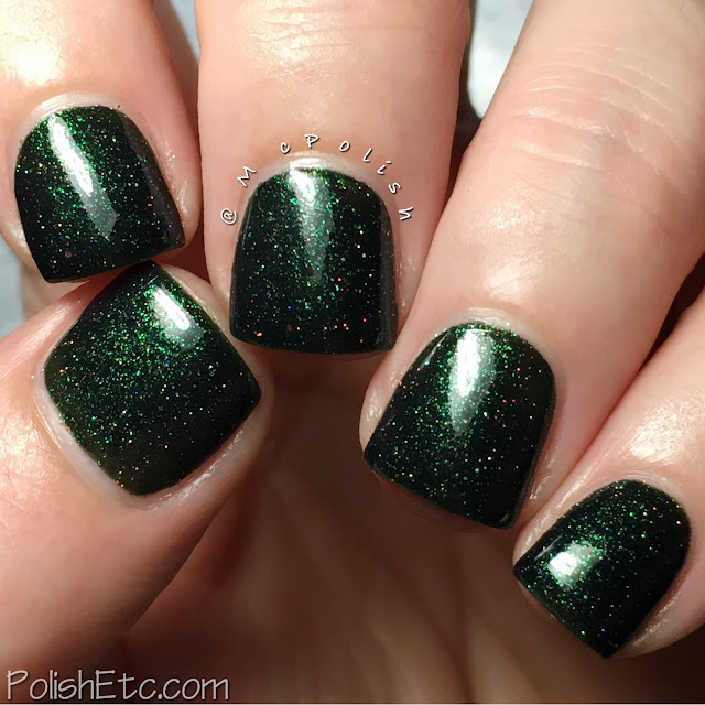 Awesome Sauce Indie Box - Hero or Villain? - McPolish - Anonymous Lacquer Ms. Ivy League