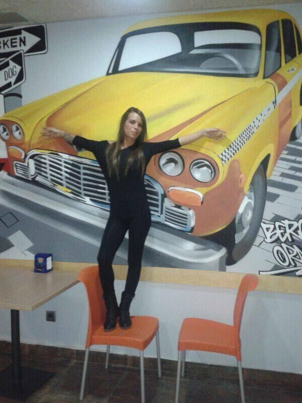 Top Model graffiti