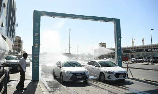 Eastern Region Municipality launches Self-Sterilizing Unit for Public Vehicles - Saudi-Expatriates.com