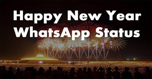 Happy New Year Status For WhatsApp