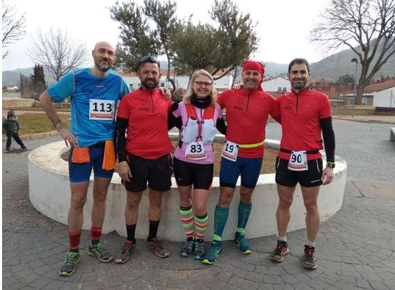 Un domingo de campo. II carrera de montaña La Fuente Vieja.