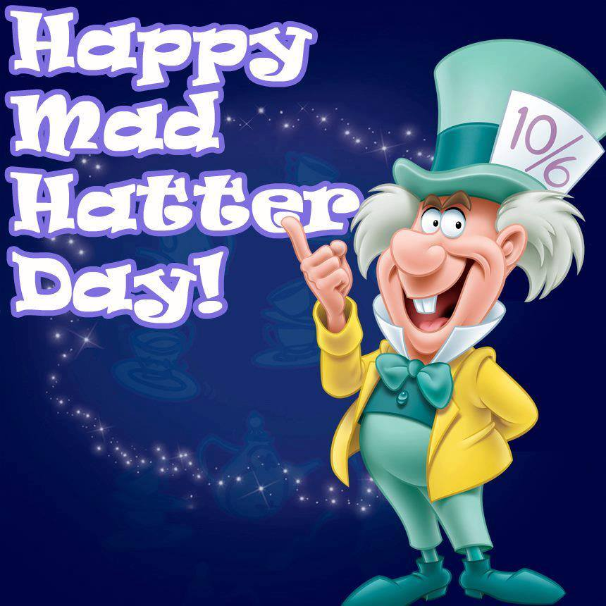 National Mad Hatter Day Wishes Awesome Picture