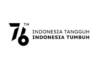 kemensetneg logo hut ri 76
