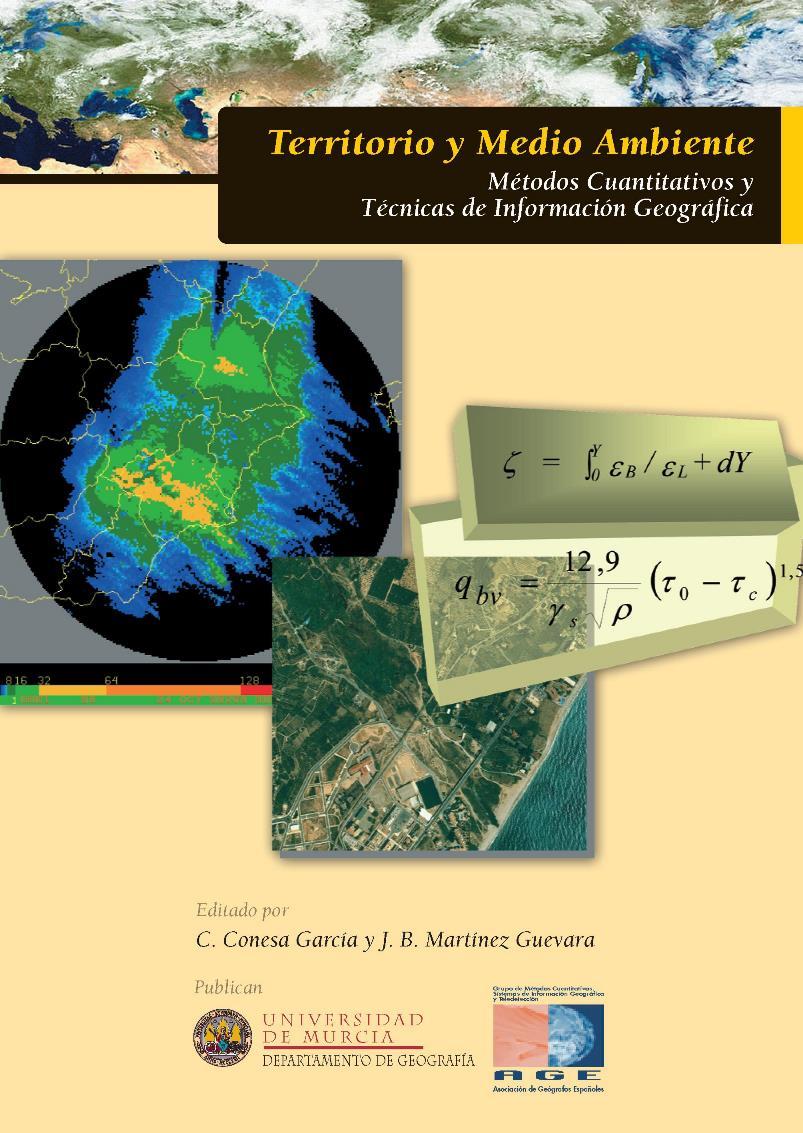 Territorio y Medio Ambiente: Métodos Cuantitativos y Técnicas de Información Geográfica