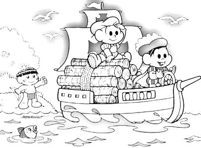 Desenhos Infantis Educativos 22 De Abril Dia Do Descobrimento