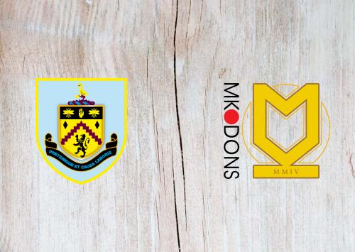 Burnley vs Milton Keynes Dons -Highlights 09 January 2021