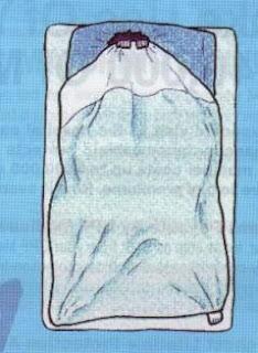 posisi tidur menutup selimut