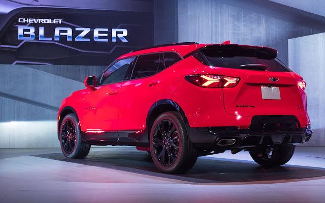 Novo Chevrolet Blazer 2019