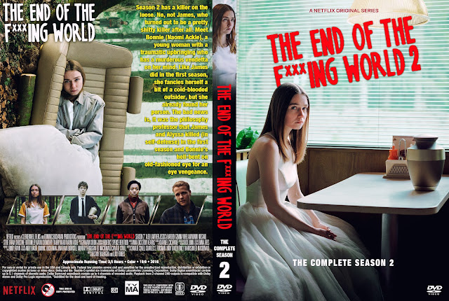The End of the F***ing World DVD Cover