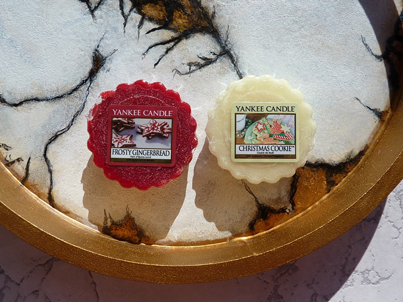 Yankee Candle Frosty Gingerbread i Christmas Cookie