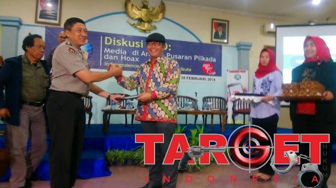 Polri Puji Diskusi IWO Seksi,  Sejalan Dalam Rangka Penegakan Hukum