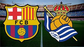 موعد مباراة برشلونة وريال وسوسيداد في الدوري الاسباني