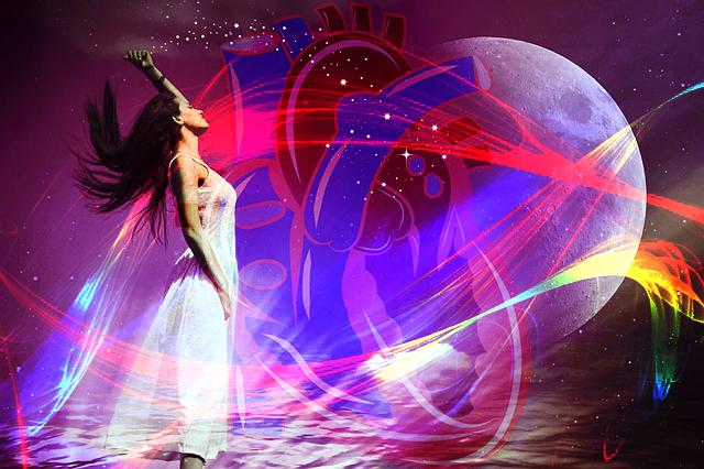 kalbin yaydigi enerji