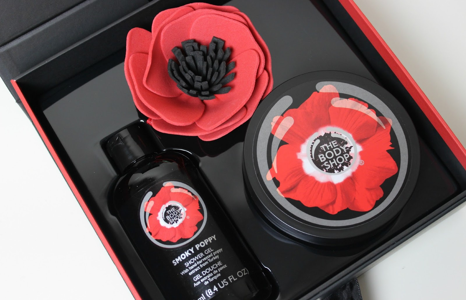 A picture of The Body Shop Limited Edition Smoky Poppy Collection