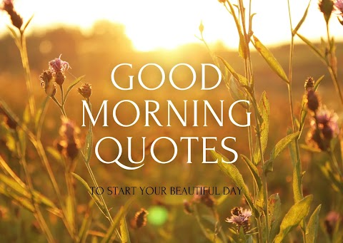 51 Inspirational Good Morning Quotes With Images