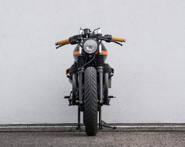 Moto Guzzi V65 By Ventus Garage Hell Kustom