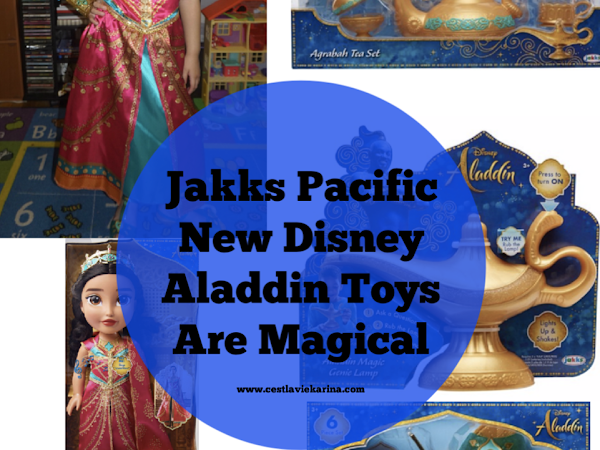 Jakks Pacific New Disney Aladdin Toys Are Magical