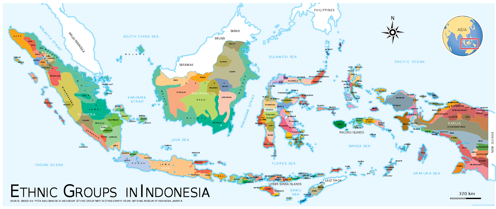 Ethnic groups in Indonesia