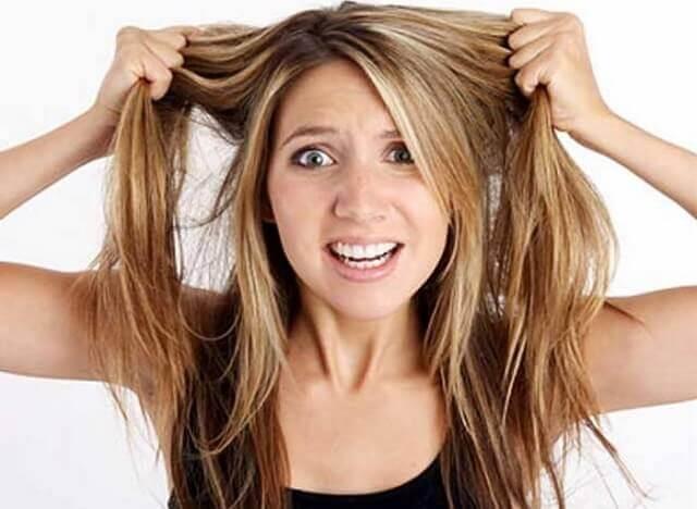 Yağlı saçlar için saç bakım önerileri