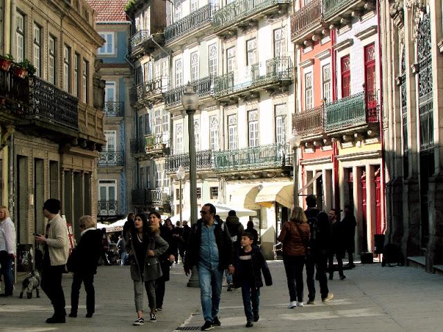 Rua das Flores no Porto