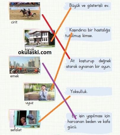 2. Sınıf Türkçe Ders Kitabı Koza Yayınları 100. 101. 102. 103. 104. 105.. Sayfa Cevaplar