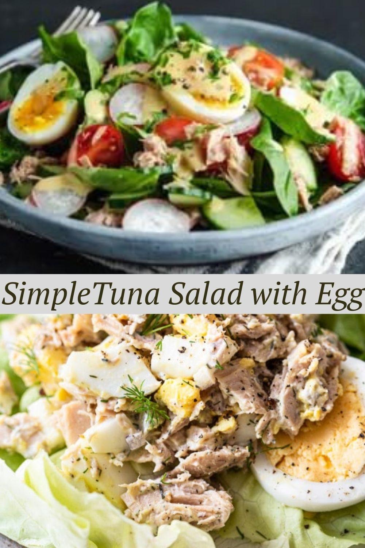 SimpleTuna Salad with Egg