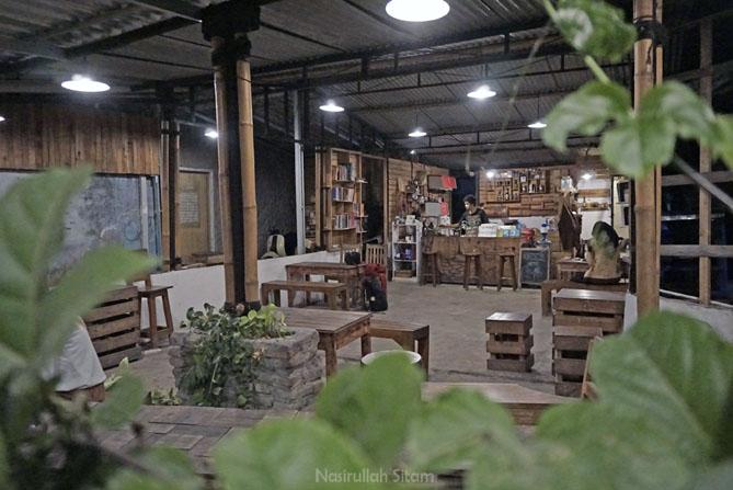 Kedai Kopi Aksara di Jogja