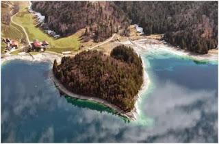 Walkensee szigete Németországban