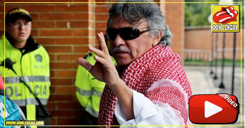 El terrorista Jesús Santrich se hospedó en un importante hotel de Caracas