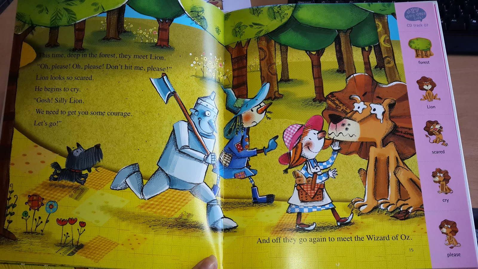 Story Time The Wizard Of Oz Reading And 2nd Page Of Our