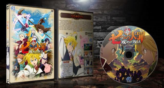 Nanatsu no Taizai: Imashime no Fukkatsu | Cover DVD |