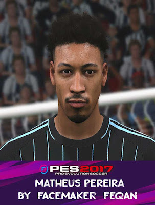 PES 2017 Matheus Pereira Face by Feqan